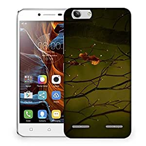 Snoogg Dew Drops In Trees Designer Protective Phone Back Case Cover For Lenovo K5 Vibe