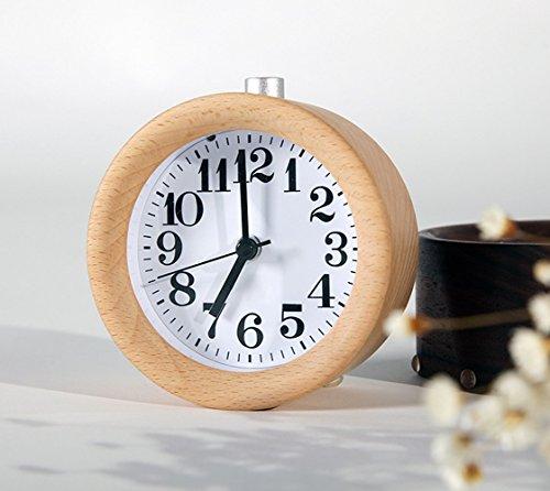 waycom-classic-silent-small-wood-alarm-clock-bedside-alarm-clock-with-nightlight-wooden