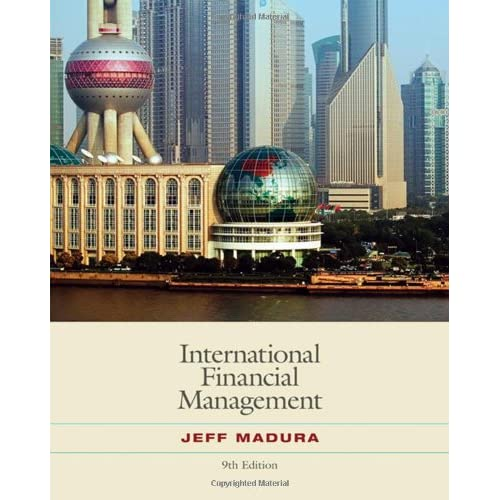fina 370 internatonional financial management Finance the finance major offers a comprehensive curriculum for individuals who wish to pursue the traditional careers in corporate finance and investments.