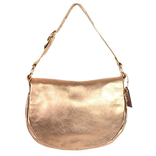 Coach Ali Leather Flap Hobo 13652