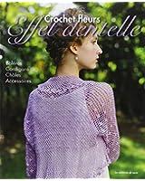 Crochet fleurs, effet dentelle : Boléros, cardigans, châles, accessoires