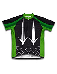 Go-Go Green Short Sleeve Cycling Jersey for Women