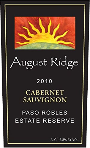2010 August Ridge Cabernet Sauvignon Estate Reserve 750 Ml