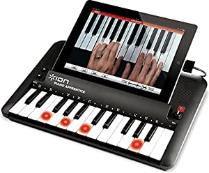 ION Piano Apprentice 25 Key Lighted Keyboard for iPad, iPhone and iPod Touch