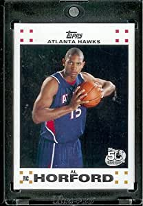 2007 08 Topps Al Thornton Atlanta Hawks Rookie NBA Basketball Card #3
