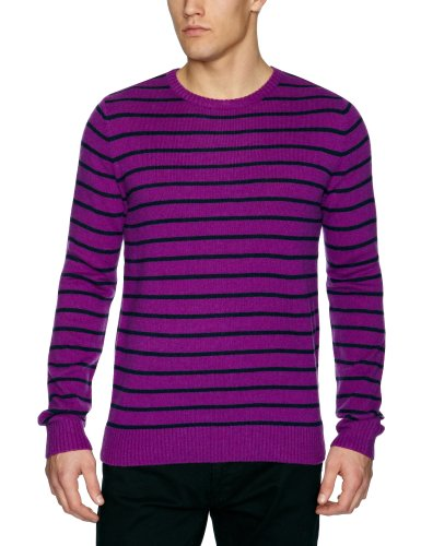edc by Esprit 122CC2I013 Men's Jumper City Lilac Small
