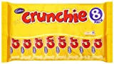 Cadbury Crunchie 8 Bars (Pack of 5, Total 40 Bars)