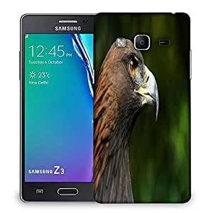 Snoogg Eagle Face Designer Protective Phone Back Case Cover For Samsung Galaxy Tizen T3