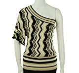 Grass Glammazon One Shoulder Sweater