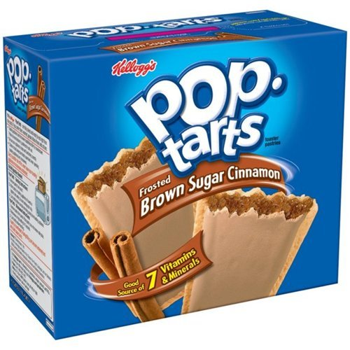 Kellogg's Pop Tarts Toaster Pastries Frosted Brown Sugar Cinnamon Family Pack 12 Ct - 12 Pack (038000311208)