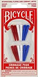 Plastic Cribbage Pegs by Bicycle