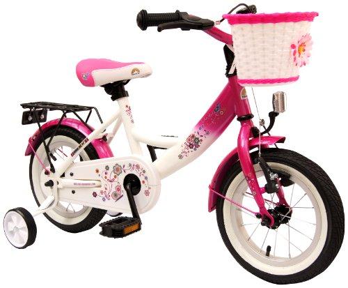 bike star 12 zoll kinder fahrrad farbe pink. Black Bedroom Furniture Sets. Home Design Ideas