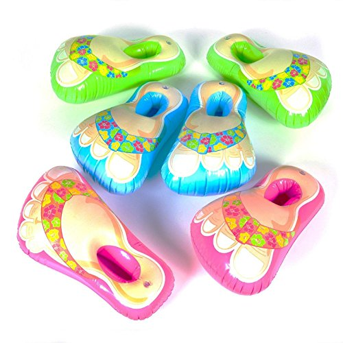 Inflatable Flip Flop Sandal Feet Assorted Colors (Inflatable Feet compare prices)