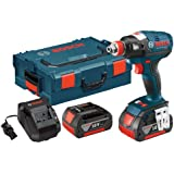 Bosch IDH182-01L 18-volt Brushless Socket Ready Impact Driver with 4.0Ah Batteries, Charger and L-Boxx-2
