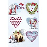 One I Love Sketchbook Me to You Bear Christmas Card