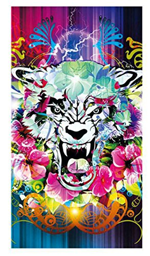 Festie Fever Wolf Face Rave Bandana Multifunctional Seamless Mask