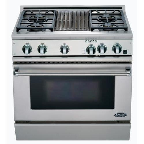 Dcs Rdt-364Gl-Ssl Range 36, 4 Burner, Grill, Lp Gas