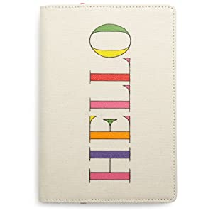 kate spade new york Canvas Kindle Cover (Fits Kindle Keyboard)