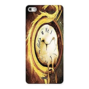 Ajay Enterprises Painted watch Back Case Cover for Micromax Canvas Silver 5
