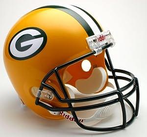 Green Bay Packers Riddell Deluxe Replica Helmet by Caseys