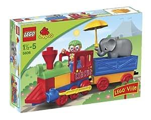Lego - 5606 - Jeu de construction - DUPLO LEGOVille - Mon premier train