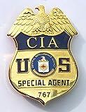 SAD アメリカ中央情報局 CIA 特殊部隊 特別捜査官 レプリカバッジ ポリスバッジ フルサイズ