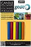 Pebeo キャンドル用色付け材 キャンドル用カラー9gx6色