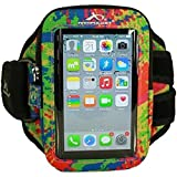 iPhone 6 armband by Armpocket®. The Xtreme i-30 model also fits Samsung Galaxy S3/S4 or phones in cases up to 5.5 inches. Splash, Medium Strap