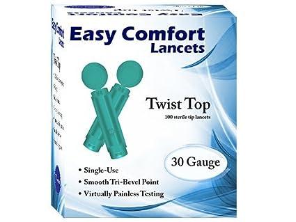 Easy Comfort Lancets Easy Comfort Sterile Lancets