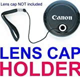 Neewer Lens Cap Keeper / Holder for ANY SLR or DSLR CAMERA! Nikon D40 D50 D60 D80 D200 D300 FUJI S1000 S1500 S2000 S700 S800 CANON XS XSi T1i SONY PENTAX