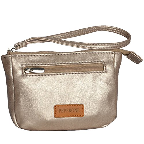 Peperone Women's Wallet (Champagne)  available at amazon for Rs.417