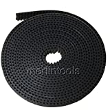 5 Meters GT2 2mm pitch 6mm wide Timing Belt for 3D printer CNC