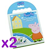 Peppa Pig Carry Along Colouring Set With Carry Handle (2 Packs)