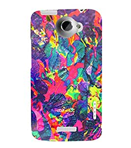 EPICCASE dragon painting Mobile Back Case Cover For HTC One X (Designer Case)