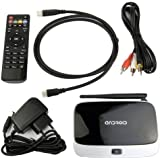 Develop 10 CS918 - TV box (Quad core, 2 GB de RAM, 8 GB, WiFi, HDMI, Android 4.2.2), negro y blanco