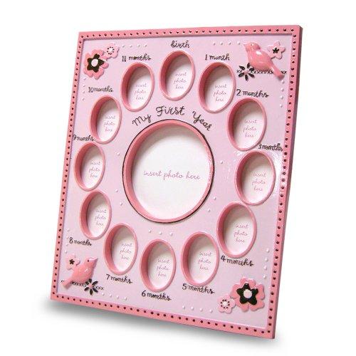 Baby Essentials Sweet Start Milestone Frame, Girls