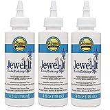 Aleene's Jewel-It Embellishing Glue Pack of 3 (Tamaño: Pack of 3 (4 Ounce))