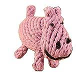 Oriental eLifeペット用品 犬 おもちゃ ぬいぐるみ 玩具 いくら噛んでも大丈夫!丈夫/耐久性 歯ぎしり 清潔/安全 ストレス解消 運動不足 犬用品 (カバ)