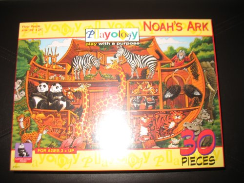 Picture of Playology Noah's Ark 30 Piece Floor Puzzle Ages 3+ (B001BA94U0) (Floor Puzzles)