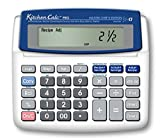 Calculated Industries KitchenCalc 8305 PRO Master Chef Edition Recipe Conversion Calculator with Dual Digital Timer
