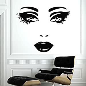 Makeup Wall Decal Vinyl Sticker Decals Home Decor Mural