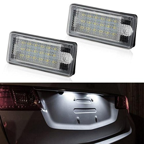 partsam-1-set-2pcs-xenon-white-18-smd-high-power-license-plate-led-lights-bulbs-for-audi-a3-s3-a4-s4