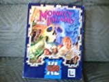THE SECRET OF MONKEY ISLAND BIG BOX AMIGA/PC/ATARI GAME ON 3. 5