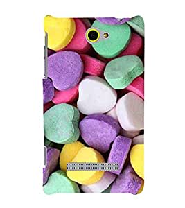 EPICCASE Heart Candy Mobile Back Case Cover For HTC Windows Phone 8S (Designer Case)