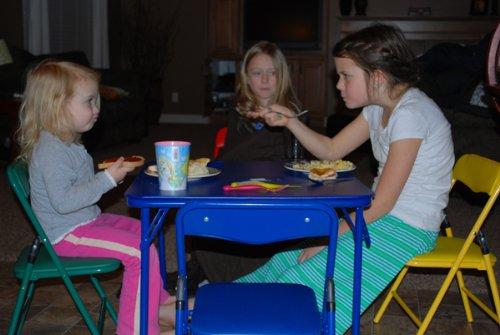 Children's Folding Table & Folding Chairs Furniture Set