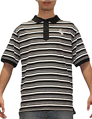 Mens MLB Chicago White Sox Baseball Short Sleeve Polo Shirt