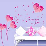 Wall sticker home decorations Love At First Sight living room wall decor