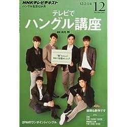 NHK テレビ テレビでハングル講座 2013年 12月号 [雑誌]