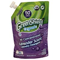 Greenshield Organic, Usda Organic Lavender Liquid Laundry Detergent, 38-Ounces