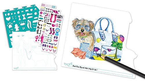 Pet Lovers Fashion Full Size Sketch Portfolio